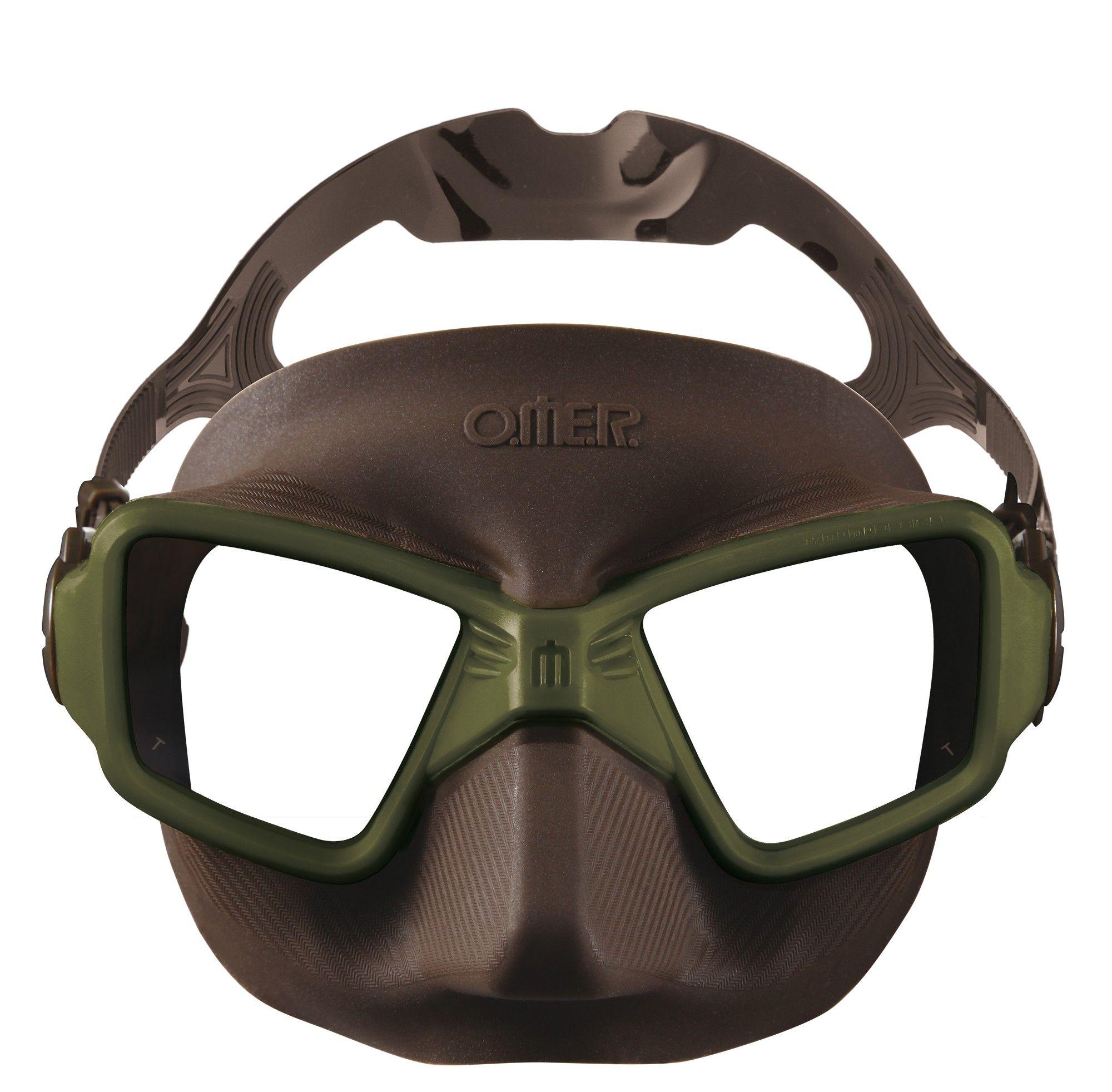 Masque de plongée Omer Zero3 Momo Design (commandable dès 20€ d'achat)