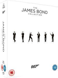 Coffret Blu-ray James Bond - 23 films