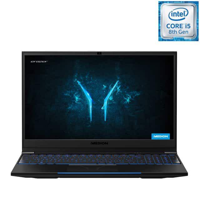 """PC Portable 15.6"""" Medion X6807 MD61385 - i5-8300H , 16 Go RAM, SSD 256 Go, GTX 1060 6 Go, Qwerty"""