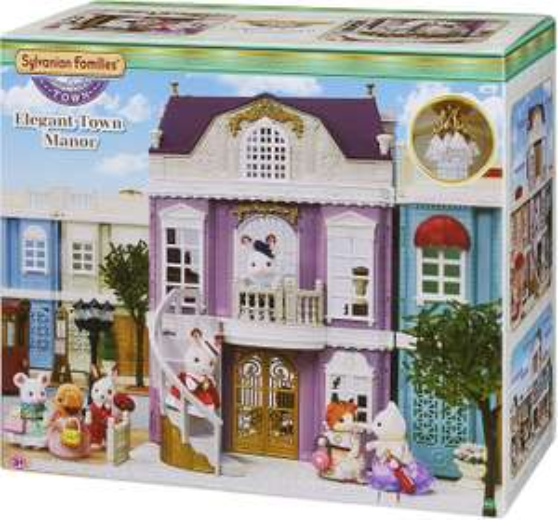 Maison de Poupée Sylvanian Families - La Grande Maison de Ville (5365)