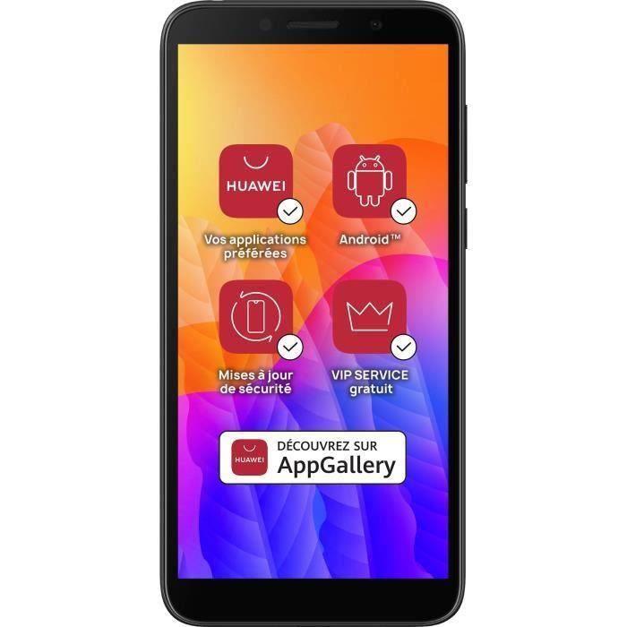 "Smartphone 5.45"" Huawei Y5P (4G) - HD+, 2 Go RAM, 32 Go, Sans services Google (Via ODR 20€)"