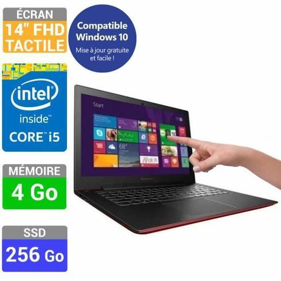 "PC portable 14"" Lenovo U430 - HD, i5-4258U, 256 Go SSD, 4 Go Ram"