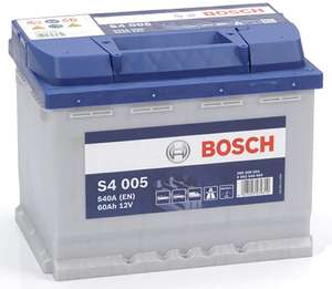 Batterie de voiture Bosch S4 005 60A/h-540A