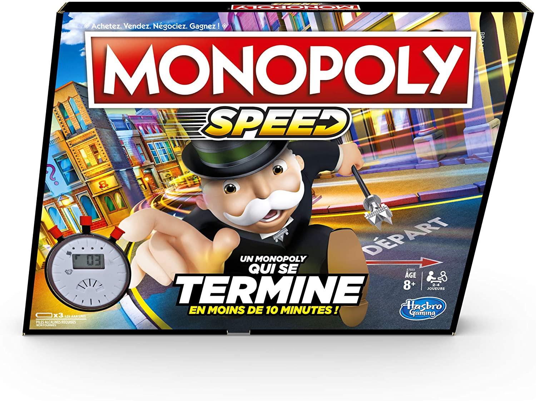 Jeu de société Monopoly Speed