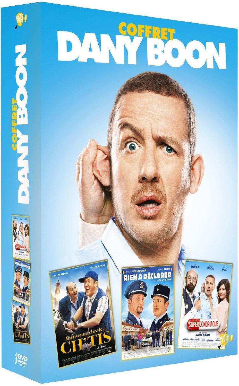 Coffret DVD Dany Boon - 3 films : Supercondriaque + Rien à déclarer + Bienvenue chez les Ch'tis