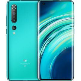 """Smartphone 6.67"""" Xiaomi Mi 10 - 256 Go, Vert Corail (+27,50€ SuperPoints)"""
