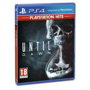 Sélection de jeux Playstations Hits en promotion - Ex: Until Dawn sur PS4