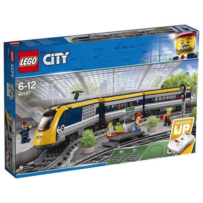 Jeu de construction Lego City Le train de passagers télécommandé