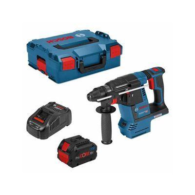 Perforateur sans fil Bosch GBH 18V-26F (1 batterie 8.0Ah ProCore + GAL1880CV + L-Boxx 136) - todotaladros.com