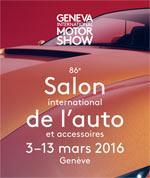 Places pour le salon de l'auto à Genève 2016