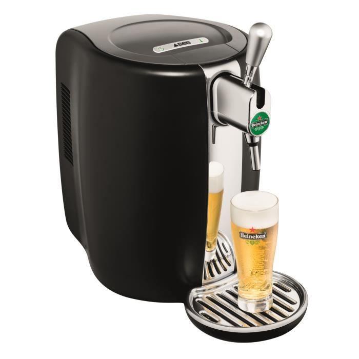 Tireuse à bière Beertender SEB VB310E10 - Compatible fûts 5 l