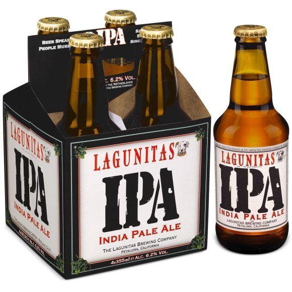 Pack de 4 bières Lagunitas IPA (4 x 35,5ml) - Avermes Moulins (03)