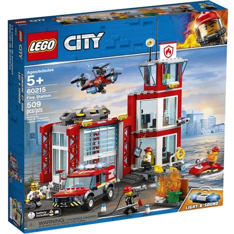 Lego City 60215 - La caserne de pompiers (via 11,97€ sur la carte fidélité)
