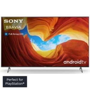 "TV LED 65"" Sony KD65XH9005 - Full LED, 4K UHD, Android TV + 1 an d'abonnement PS+"