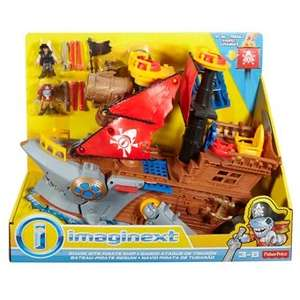 Jouet Fisher Price Imaginext Bateau Pirate Requin