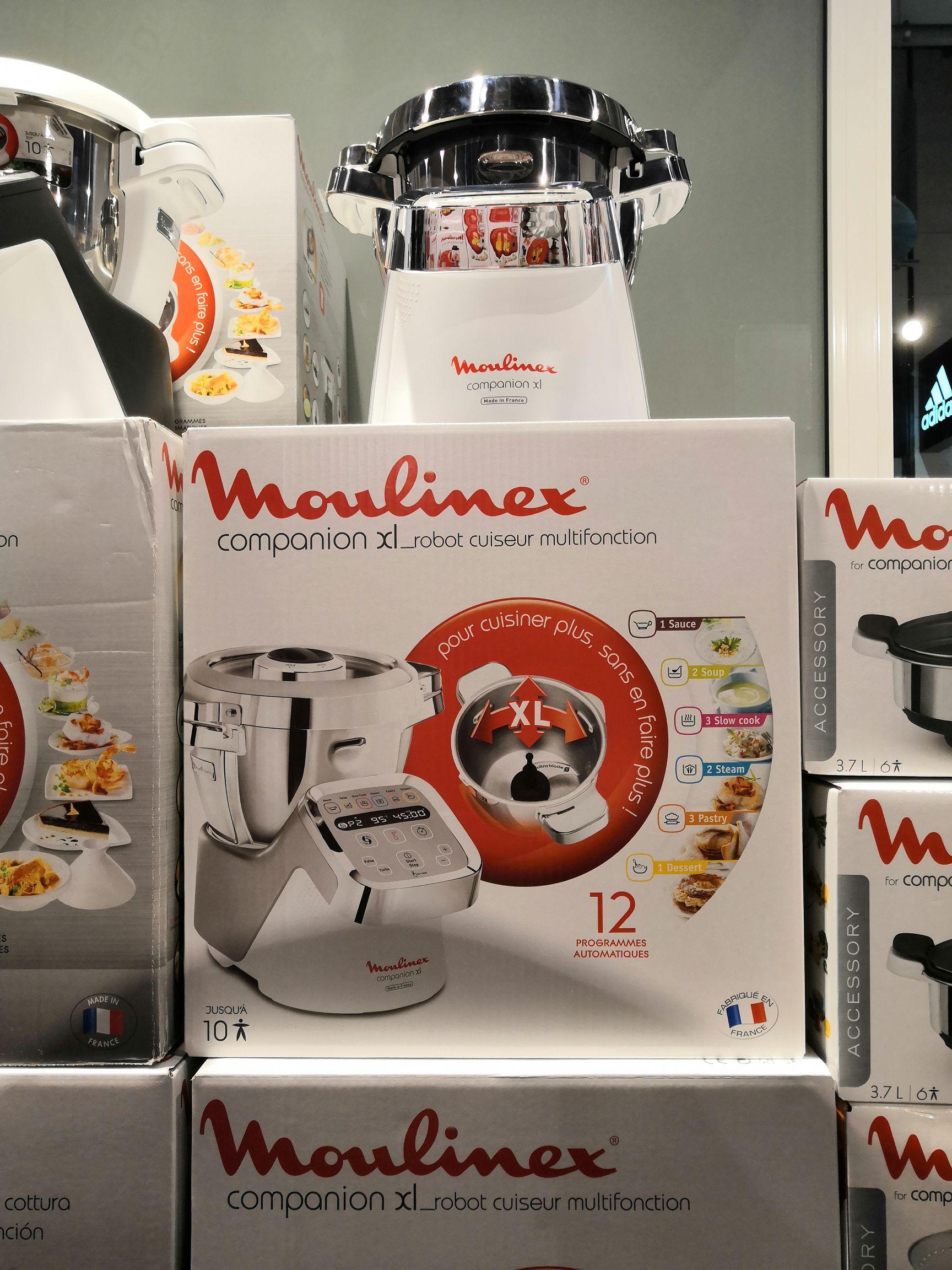 Robot cuiseur Moulinex Companion XL - 1550W - Quai des Marques Franconville (95)