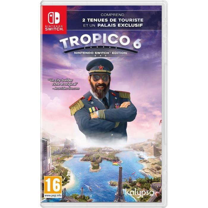 Tropico 6 sur Nintendo Switch