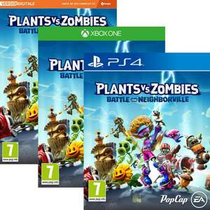 Plants Vs Zombies Battle For Neighborville sur PS4, Xbox One & PC