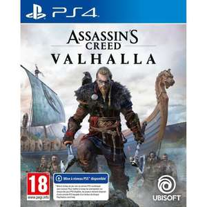 Assassin's Creed Valhalla sur PS4/PS5 et Xbox one