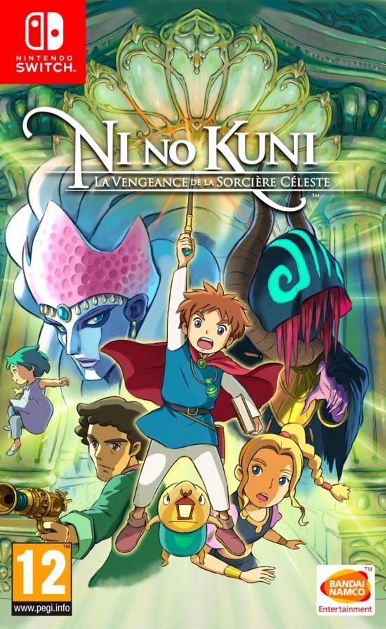 Ni No Kuni - La Vengeance de la Sorcière Céleste sur Nintendo Switch