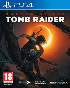 Shadow of the Tomb Raider sur PS4 (via retrait en magasin)