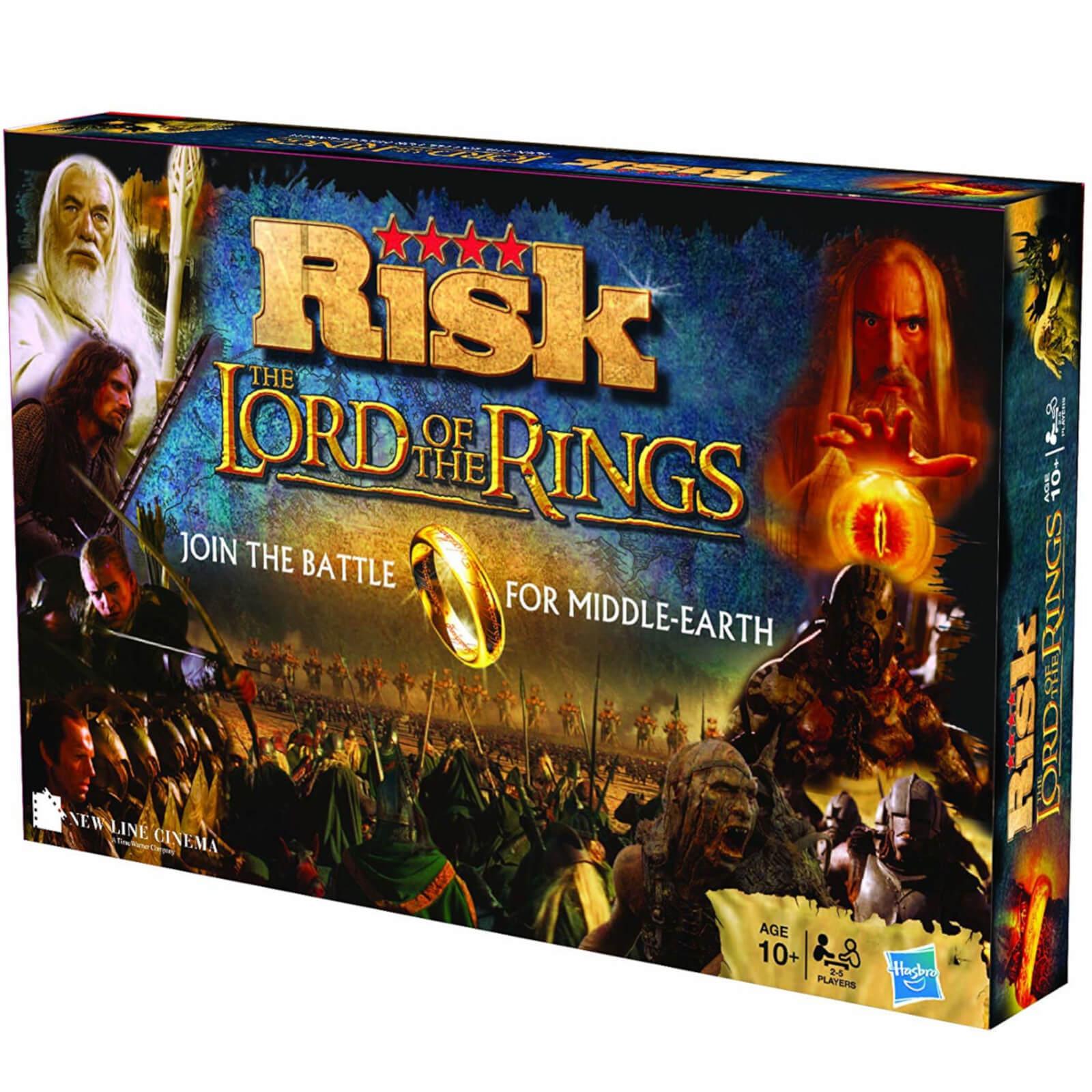 Jeu de société Winning Moves Risk - Édition Le Seigneur des Anneaux (Version Anglaise)