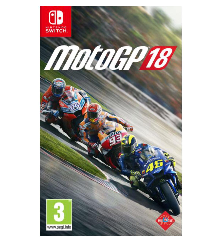 Sélection de Jeux de Course sur Nintendo Switch (Dématérialisés - eShop France et Russie) - Ex: MotoGP 18