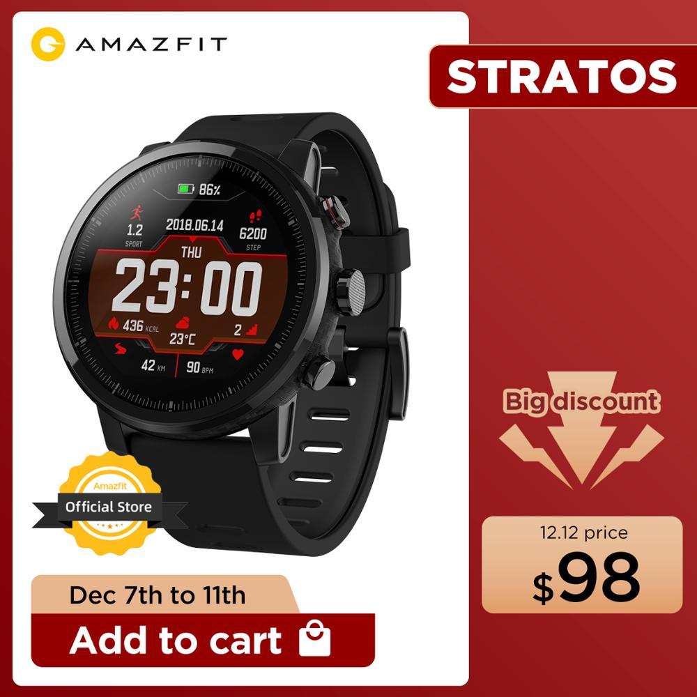 Montre connectée Amazfit Stratos Pace 2 - entrepôt Espagne (72.68€ via NYFR10)