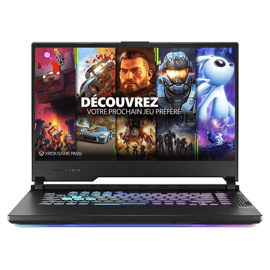"PC Portable 15.6"" Asus ROG Strix G15 G512LV-HN234T - i7-10870H, RTX 2060, RAM 16 Go, SSD 512 Go, Windows 10"