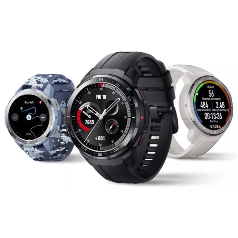 Montre connectée Honor Watch GS Pro - Coloris au choix (128.43€ avec DECSELL15)