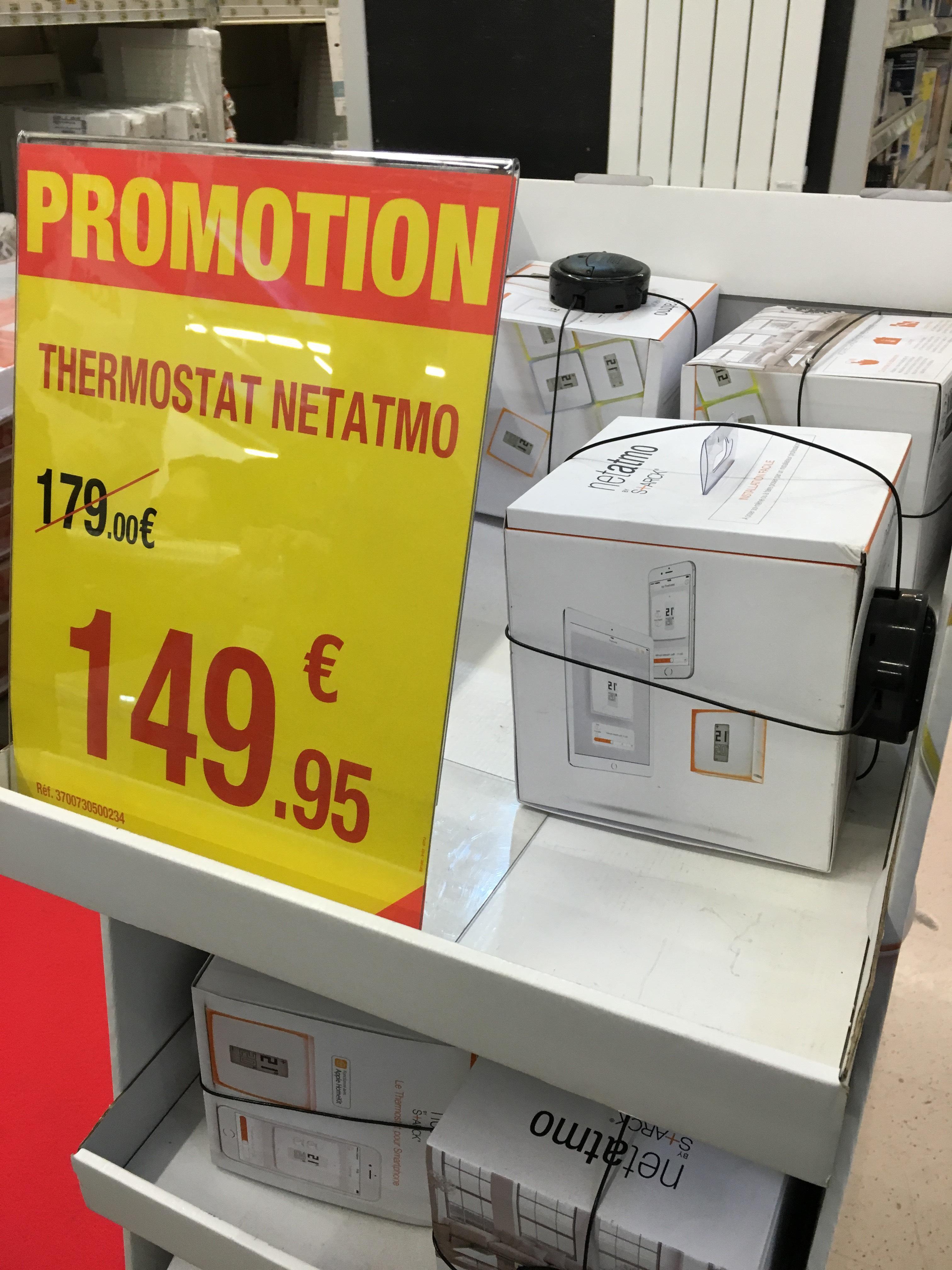 Thermostat connecté Netatmo by Starck