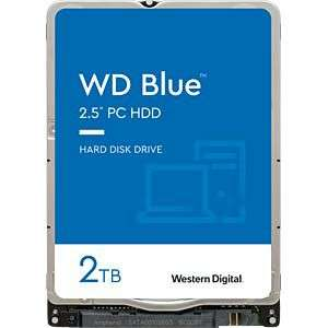 "Disque Dur Interne 2.5"" Western Digital WD Blue - 2 To"