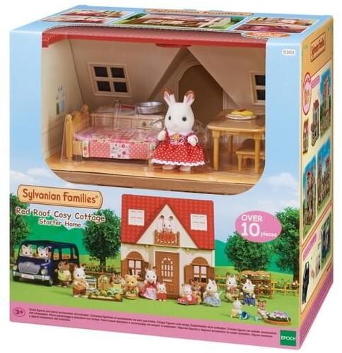 Maison de poupée Sylvanian Families Le cosy cottage du village (5303)