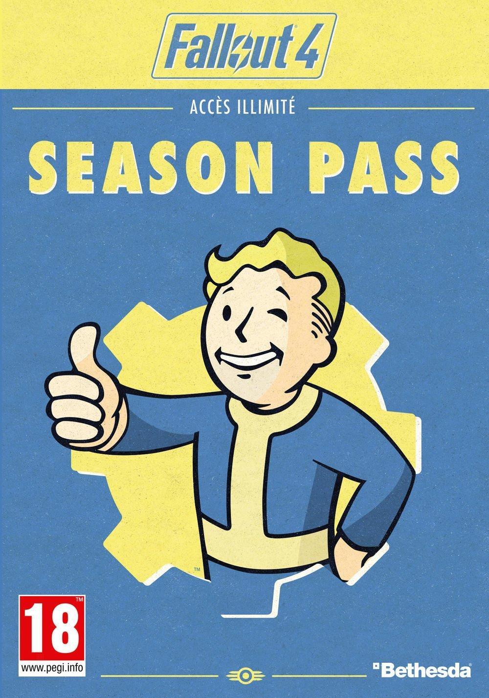 Fallout 4 Season Pass sur PS4 et PC