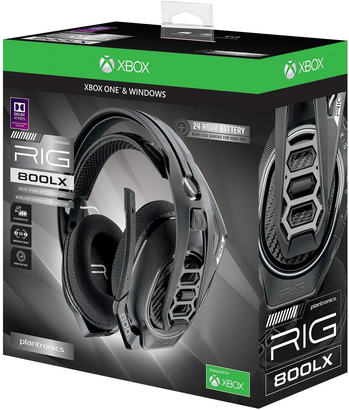 Casque audio sans-fil Plantronics Xbox RIG 800LX V2 - avec micro