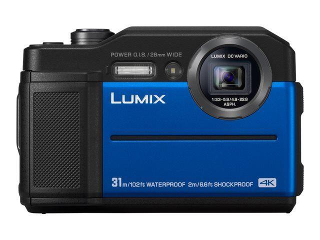 Appareil photo Panasonic Lumix FT7 - Bleu (photo-denfert.com)