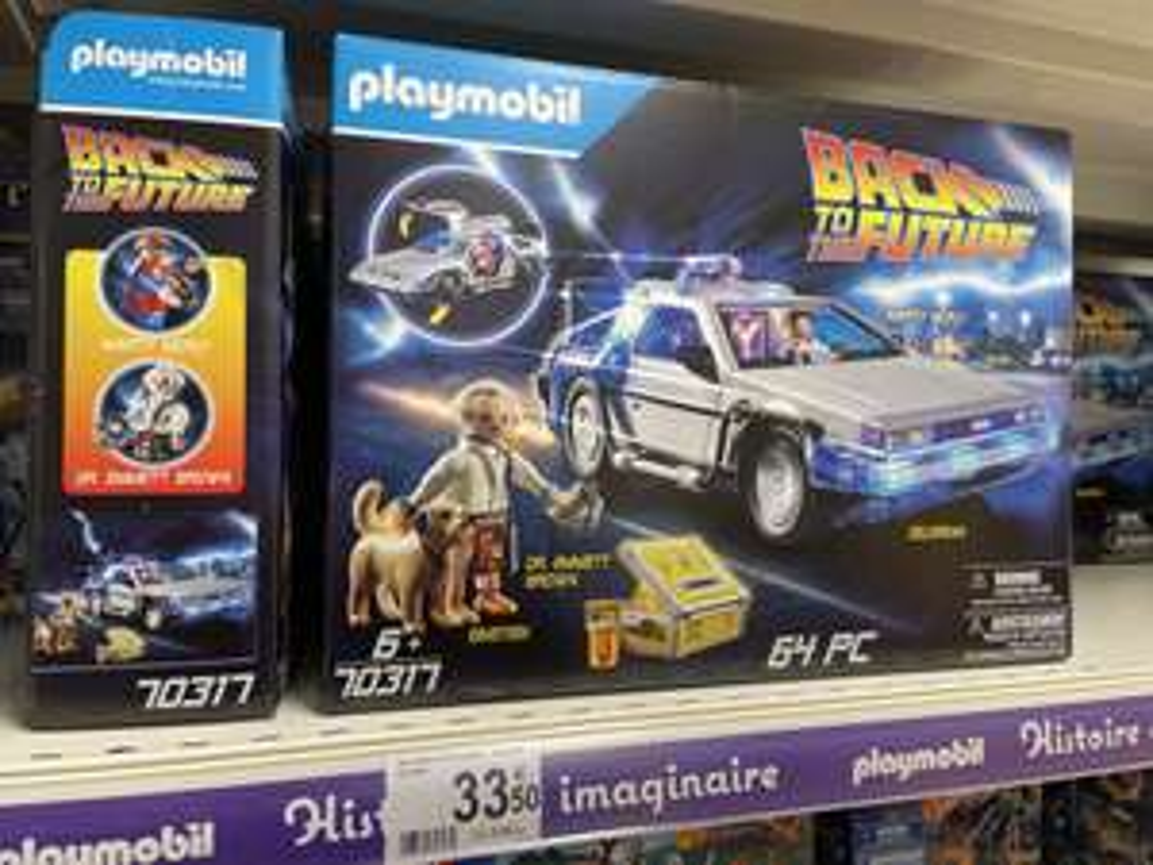 Jouet Playmobil Back To The Future Delorean 70317 - Vélizy 2 (78)