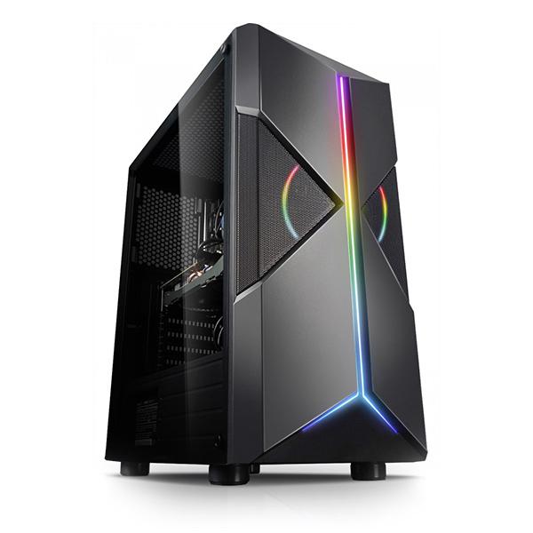 Ordinateur Gamer Empire - Ryzen 5 3500X, RTX 3060 TI (8 Go), 16Go RAM (3200 Mhz), 512 Go SSD, Asus Prime B550, alim. 600W, sans OS
