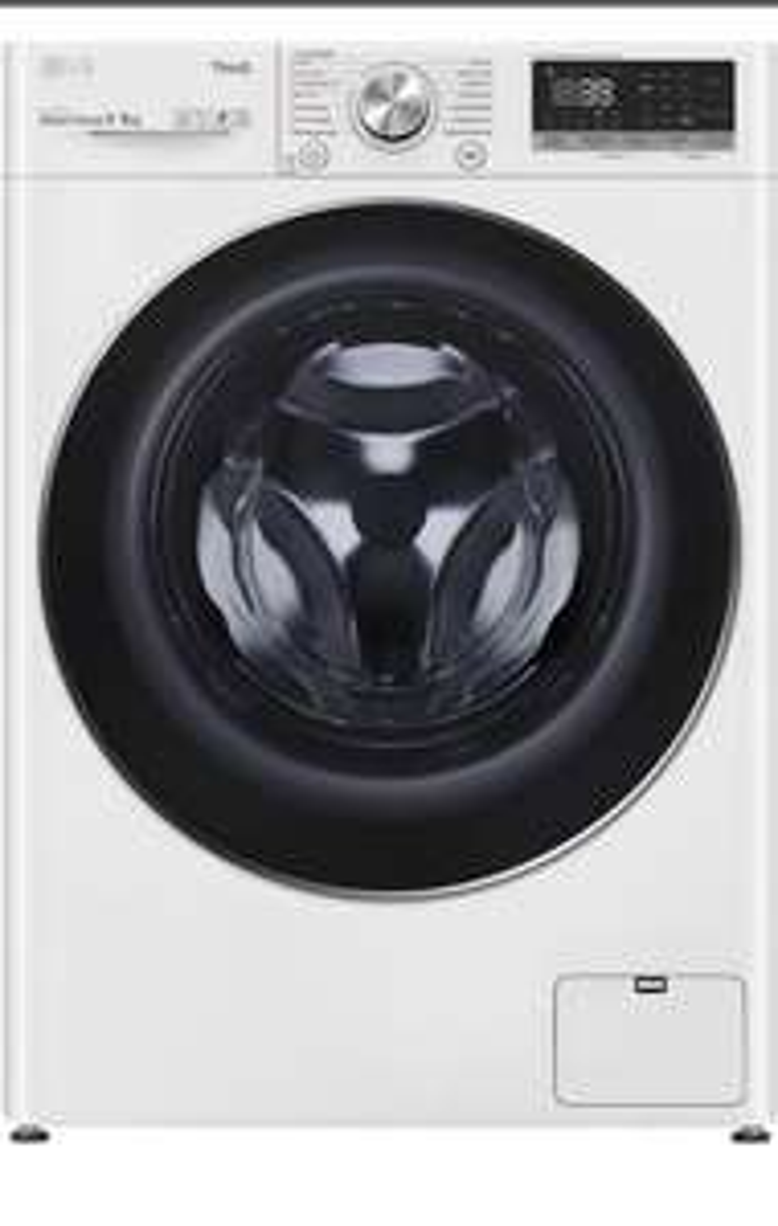 Lave-linge séchant LG F964V72WRHT - 9 kg (lavage) / 6 kg (séchage), 1400 trs/min, Eco Hybrid, TurboWash360, A