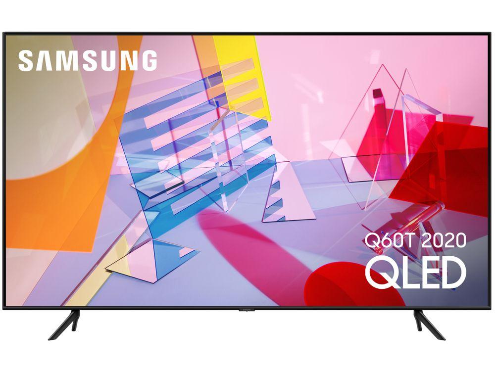 """TV 85"""" Samsung QE85Q60T (2020) - QLED, 4K UHD, 50 Hz, HDR 1000, Smart TV (Via ODR de 500€)"""
