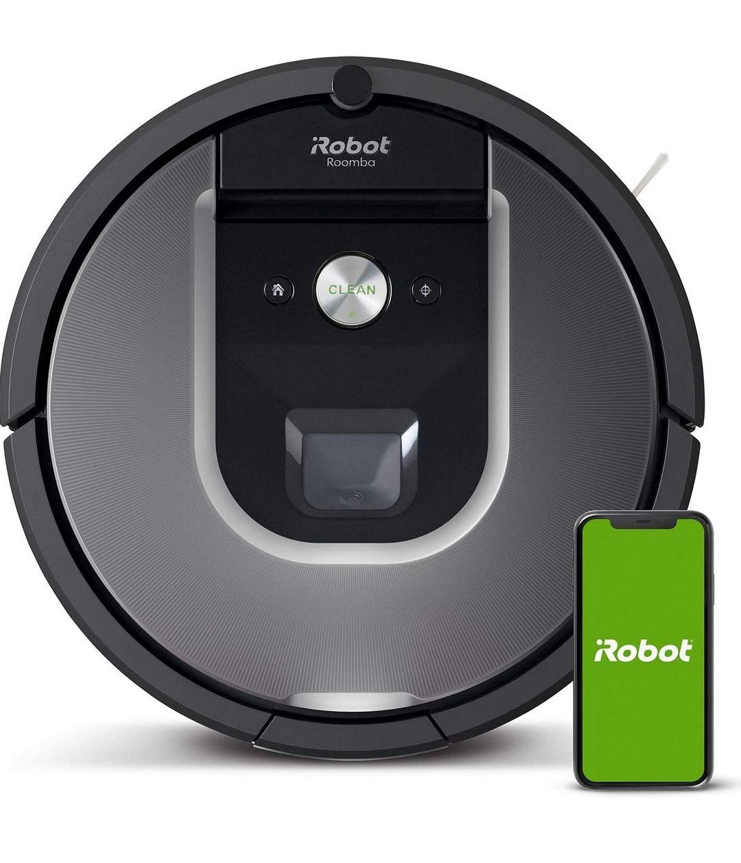 Aspirateur robot connecté iRobot Roomba 960