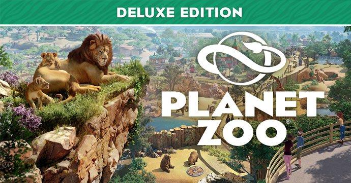 Planet Zoo Deluxe Edition sur PC (Dématérialisé - Steam)