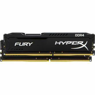 Kit Mémoire Kingston Fury Black Hyper X 16 Go (2 x 8 Go) 2666MHz DDR4 CL15 1.2V