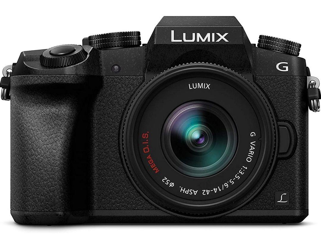Appareil Photo Panasonic Lumix DMC-G7KEC + Objectif 14-42 mm F3.5 - 5.6