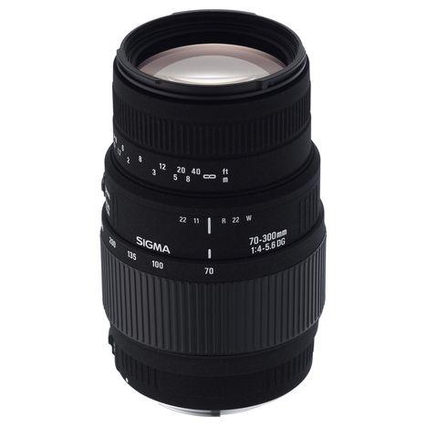 Objectif Sigma 70-300 DG monture Sony A (Via Réservation en Ligne)