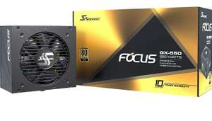 Alimentation PC modulaire Seasonic FOCUS GX-550 - 80PLUS Gold, 550 Watt