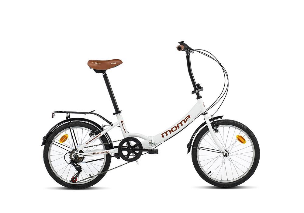 Vélo pliant Moma Bikes First Class 2 (momabikes.com)