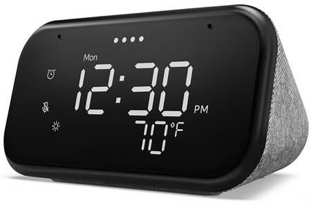 Assistant vocal Lenovo Smart Clock Essential - Compatible Google Assistant