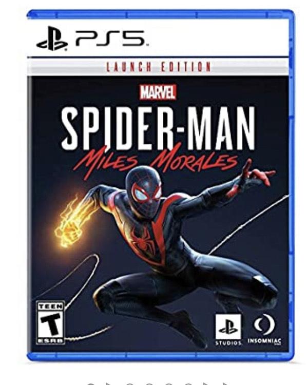 Marvel's Spider-Man: Miles Morales Launch Edition – PlayStation 5 - VF (frais de livraison compris)