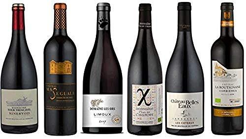 Coffret Dégustation Sélection de 6 Vins Rouges du Sud de la France - 6x 0.75l